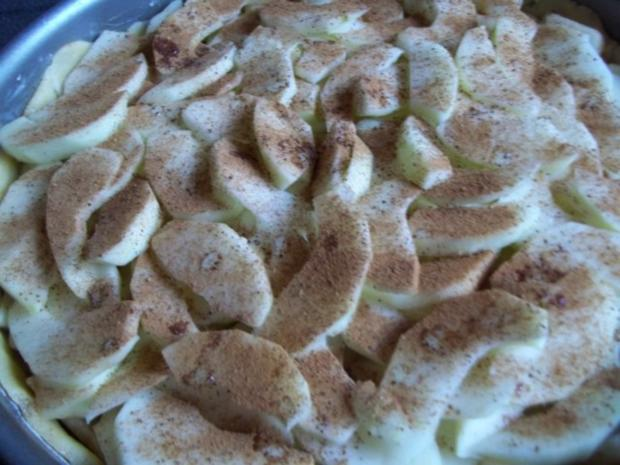 gedeckter Apfelkuchen frisch gehext - Rezept - Bild Nr. 7