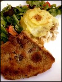 Kartoffel-Gratin mit Steinpilzen - Rezept