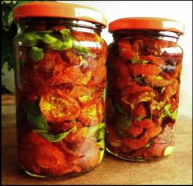 Getrocknete Tomaten - Rezept