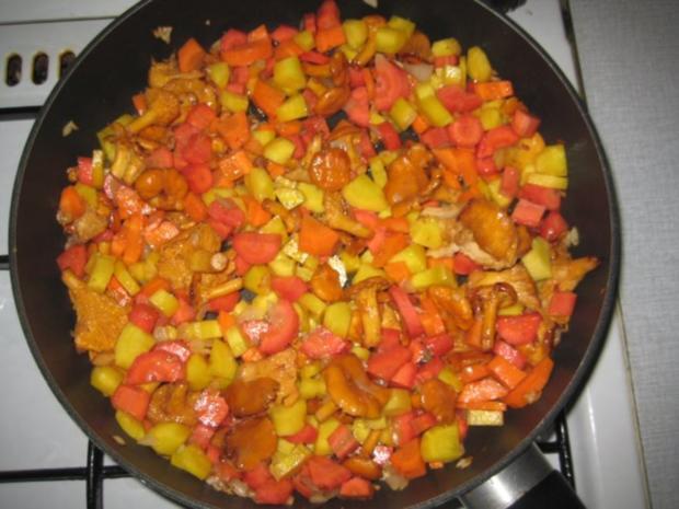 Spätzli Karotten Pilz Gratin - Rezept - Bild Nr. 8