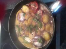 Rahmkartoffeln Mediterran - Rezept