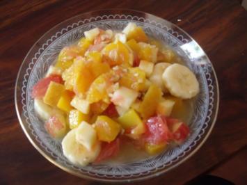 Obstsalat wie meine Oma ihn gemacht hat - Rezept