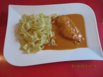 Hähnchenbrust mit paprika