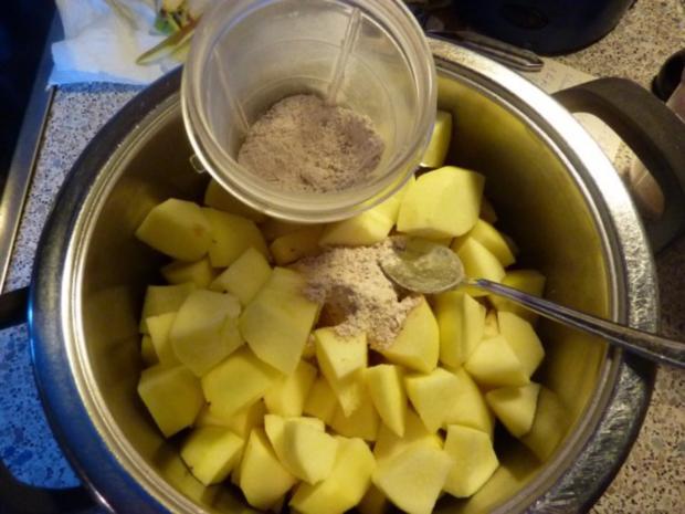 Dessert: Apfelmus winterlich - Rezept - Bild Nr. 2