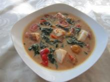 Tailändische Kokossuppe - Rezept