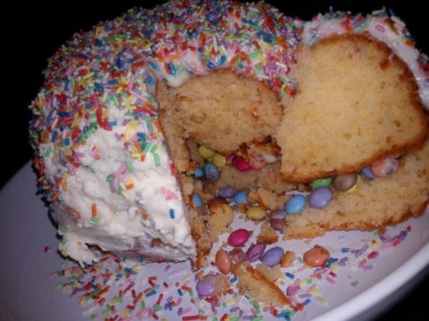 Pinata Torte - Rezept