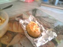 Gefüllte Kartoffeln vom Grill - Rezept