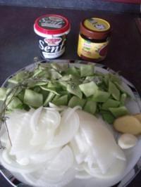 Zwiebel-Bohnen-Salat - Rezept