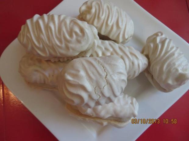 Kuchen: Baiser mit Moccacreme - Rezept - Bild Nr. 2