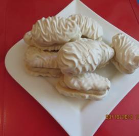 Rezept: Kuchen: Baiser mit Moccacreme