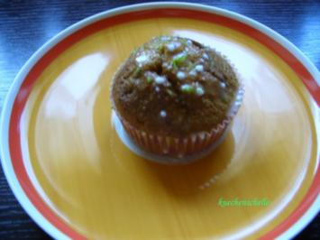 Kleine Formen: Kürbismuffins - Rezept