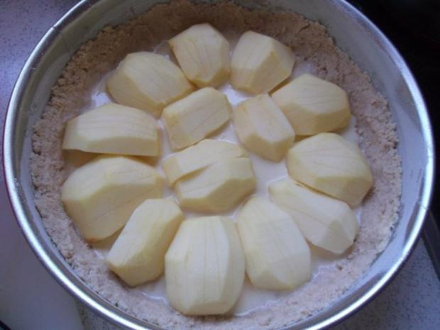 Apfelkuchen mit Schmand und Streusel - Rezept - Bild Nr. 12