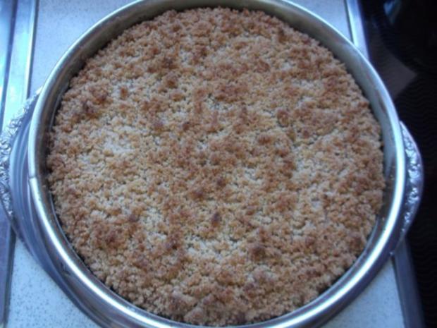 Apfelkuchen mit Schmand und Streusel - Rezept - Bild Nr. 15