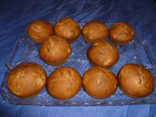 Kleingebäck - Bananenmuffins - Rezept