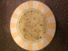 Cremige Pilzsuppe - Rezept
