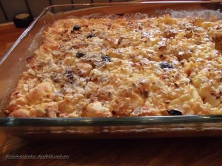 Saftiger Apfel-Müsli-Kuchen - Rezept