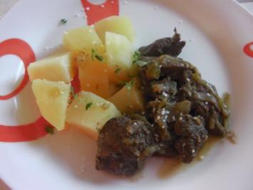 Erikas gebratene ungarische Leber / Hühnerleber - Rezept