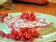 Johannisbeer-Ricotta-Kuchen - Rezept
