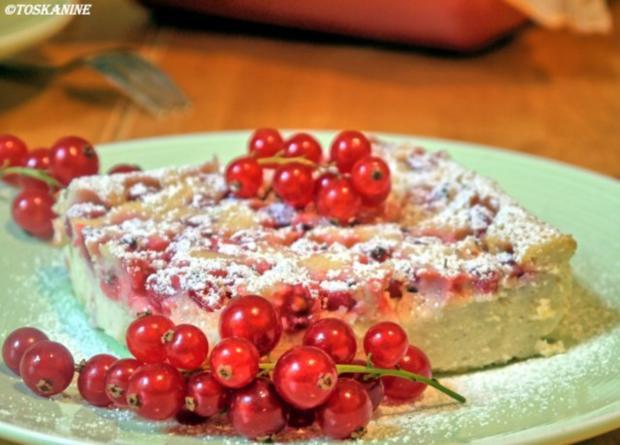 Johannisbeer Ricotta Kuchen Rezept Mit Bild Kochbar De
