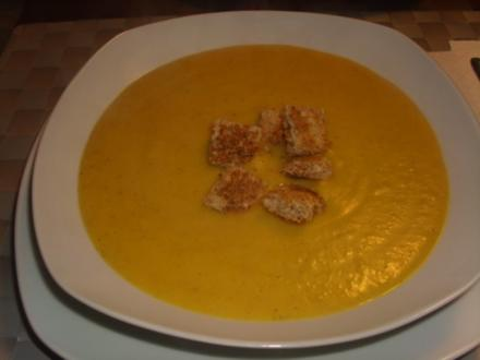 Butternutkürbis-Suppe - Rezept