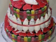 Haribo- Torte Hochzeitstorte - Rezept