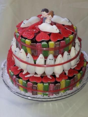 Haribo Torte Hochzeitstorte Rezept Mit Bild Kochbar De
