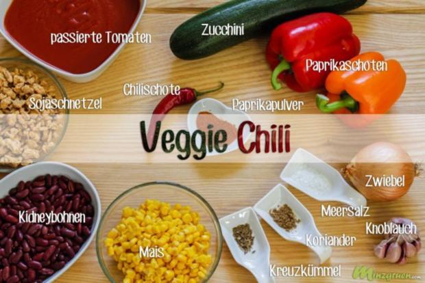 Veggie Chili - Rezept