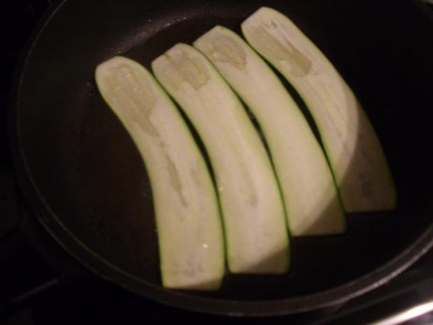 Finger food - Zucchiniröllchen - mariniert - Rezept - Bild Nr. 3