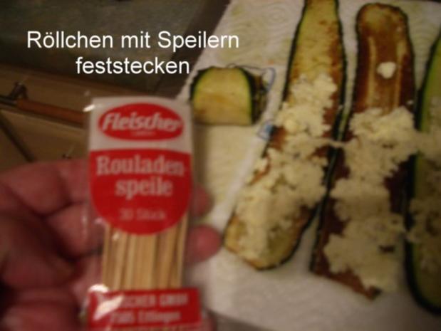 Finger food - Zucchiniröllchen - mariniert - Rezept - Bild Nr. 5