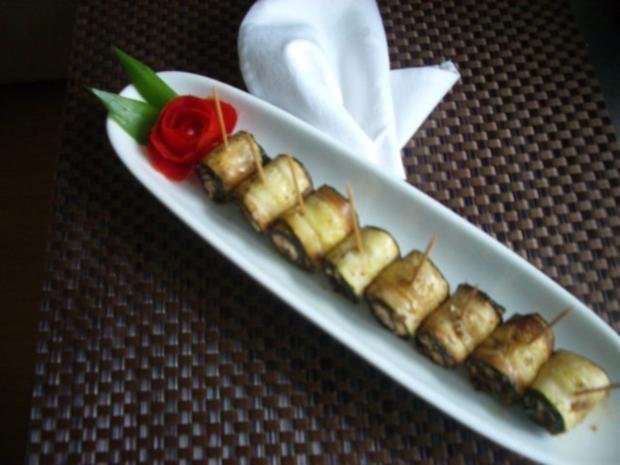Finger food - Zucchiniröllchen - mariniert - Rezept - Bild Nr. 7