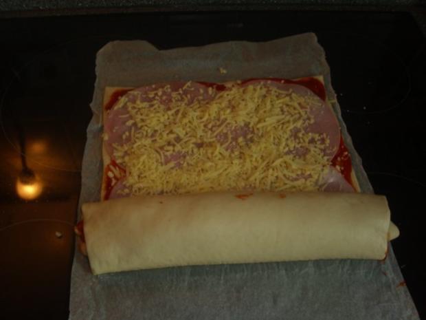 Pizza-Schnecken - Rezept - Bild Nr. 6