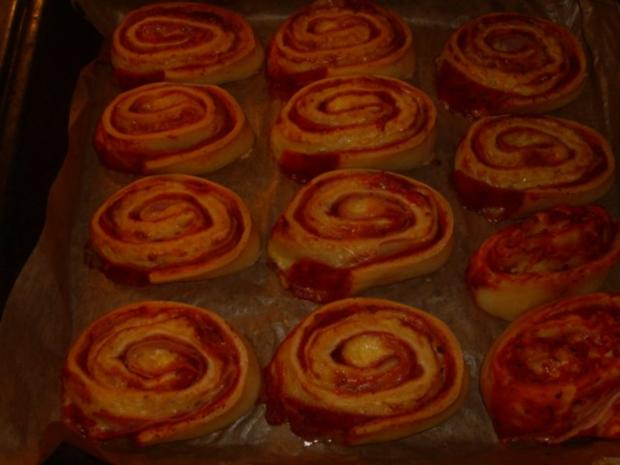 Pizza-Schnecken - Rezept - Bild Nr. 9