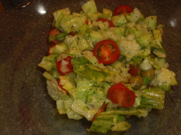 Gemischter Salat mit Thunfisch - Rezept - Bild Nr. 3