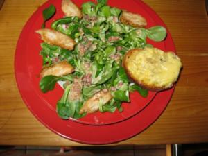 Mein Feldsalat - Rezept