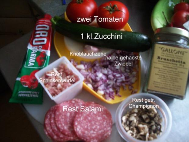 Calzone - gefüllte Pizza - Rezept - Bild Nr. 3