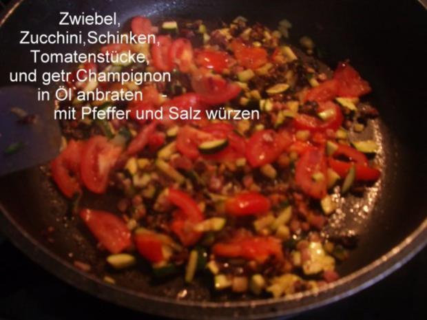 Calzone - gefüllte Pizza - Rezept - Bild Nr. 5