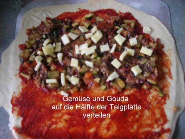 Calzone - gefüllte Pizza - Rezept - Bild Nr. 6