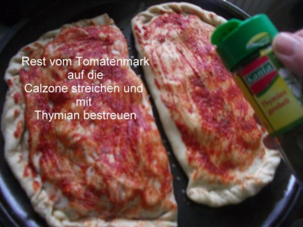 Calzone - gefüllte Pizza - Rezept - Bild Nr. 11