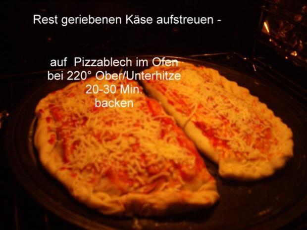Calzone - gefüllte Pizza - Rezept - Bild Nr. 12