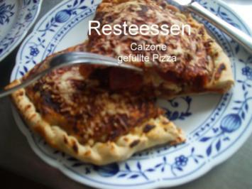 Calzone - gefüllte Pizza - Rezept