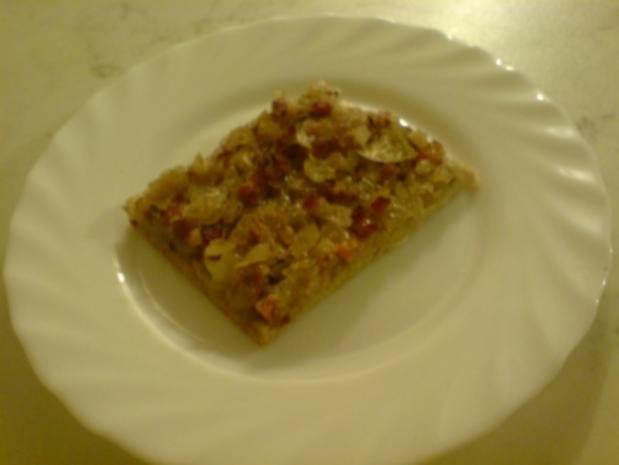 Zwiebelkuchen - sehr einfach - Rezept