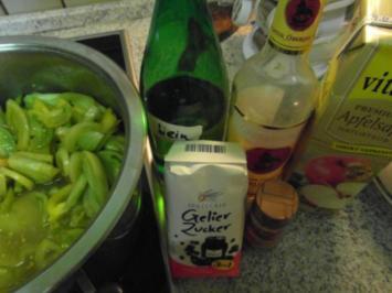 """""""Grüne Tomaten-Marmelade""""  mit Wein und Rum - Rezept"""