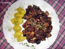 Maronen - Röhrlinge geschmort - Rezept