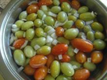 Kleine Tomaten süss-sauer eingelegt - Rezept