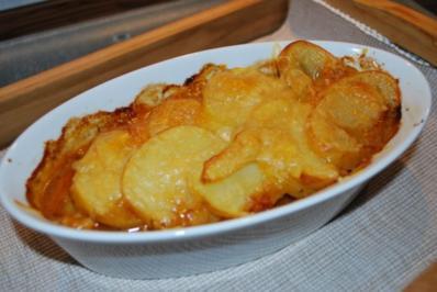 Daube de bœuf unter Reblochon-Kartoffel-Haube - Rezept