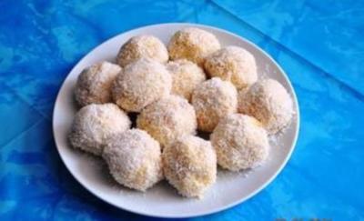 Gebäck:Kokos-Bällchen - Rezept