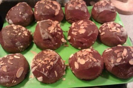Schoko-Hefe- Muffins (Kleiner Bruder vom Hefezopf) :-D - Rezept