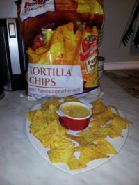 Rezept: Cheesedip für Nachos