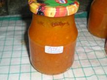 Apfel-Kürbis-Marmelade - Rezept