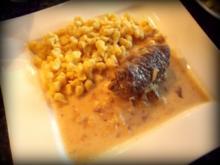 Fleisch: Gorgonzola-Birnen-Rouladen - Rezept